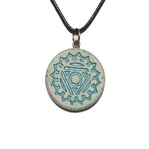 grlena-čakra-unikatni nakit-verižice-obesek-joga-meditacija