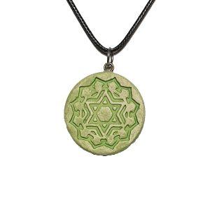 unikatni nakit-Srčna čakra – Anahata-verižica-obesek-meditacija-joga