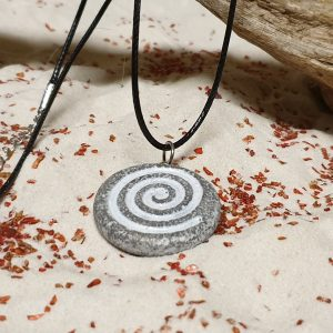 necklace celtic spiral