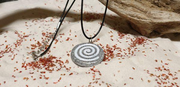 necklace celtic spiral