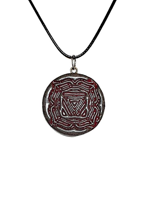 unikatni nakit-verižica-čakra-joga meditacija