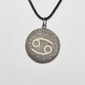 handmade-zodiac-jewelry-pendant-necklace-gift-unique jewelry-unique-jewelry-cancer
