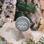 aquarius zodiac necklace