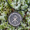Bind rune love-women's jewelry